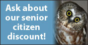 Horizon Wing's Senior Citizen Discount